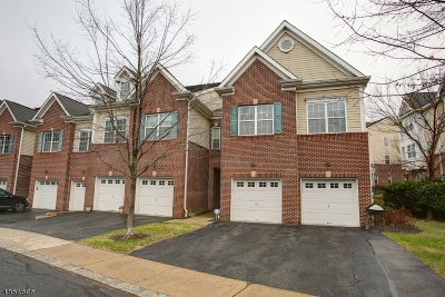 Morristown Town NJ Condo/Townhouse For Sale: $485,000