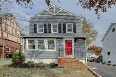 Clifton City, Passaic City Single Family Home For Sale