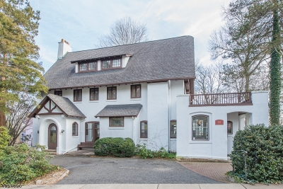 Montclair Twp. Single Family Home For Sale: 10 Rockledge Rd