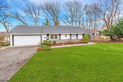 West Orange Twp. Single Family Home For Sale: 18 S Undercliff Ter