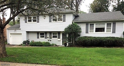West Orange Twp. Single Family Home For Sale: 27 Nance Road