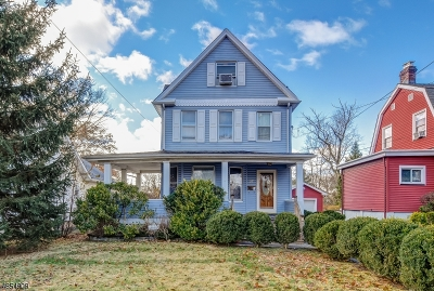 Cranford Twp. Single Family Home For Sale: 27 Elizabeth Ave