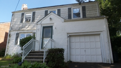 Nutley Twp. Single Family Home For Sale: 288 E Passaic Ave
