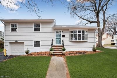 Montclair Twp. Single Family Home For Sale: 37 Nishuane Rd