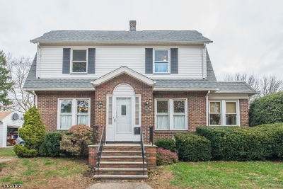 Roselle Park Boro Single Family Home For Sale: 701 Woodland Ave
