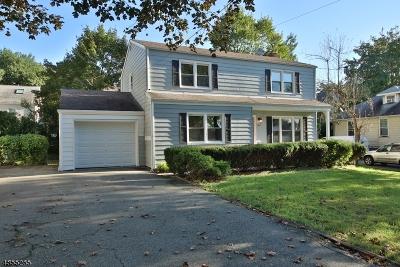 West Orange Twp. Single Family Home For Sale: 7 Sunnyside Rd