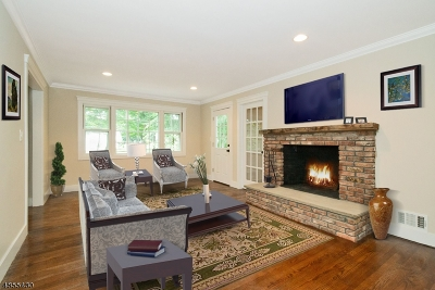 Berkeley Heights Twp. Single Family Home For Sale: 119 Spring Ridge