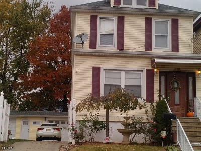 Perth Amboy City Single Family Home For Sale: 390 Jeffries St