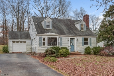 Livingston Twp. Single Family Home For Sale: 31 Wynnewood Rd