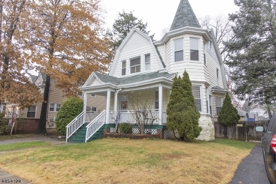 Passaic City Single Family Home For Sale: 146-148 Spring St