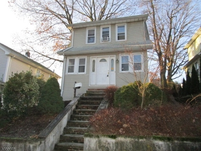 Nutley Twp. Single Family Home For Sale: 123 Raymond Ave