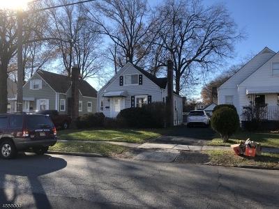 Roselle Boro Single Family Home For Sale: 738 Sheridan Ave