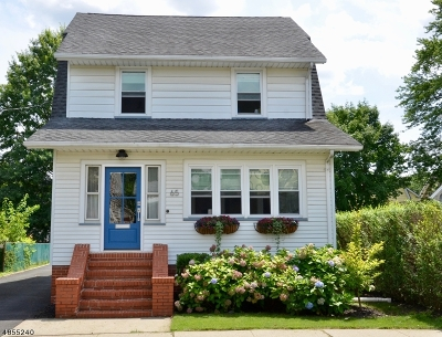 Maplewood Twp. Single Family Home For Sale: 65 Hilton Ave