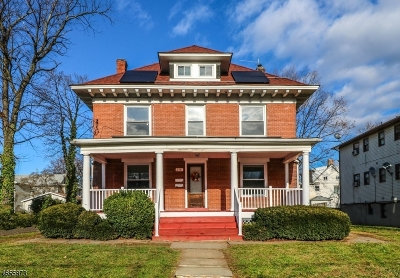 Rahway City Multi Family Home For Sale: 238 E Hazelwood Ave