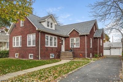 Roselle Park Boro Single Family Home For Sale: 615 Woodland Ave