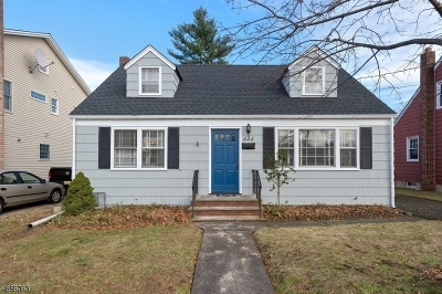 Cranford Twp. Single Family Home For Sale: 444 Lexington Ave