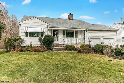 Cranford Twp. Single Family Home For Sale: 1596 Springfield Ave