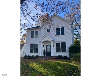 Cranford Twp. Single Family Home For Sale: 13 Cherokee Road