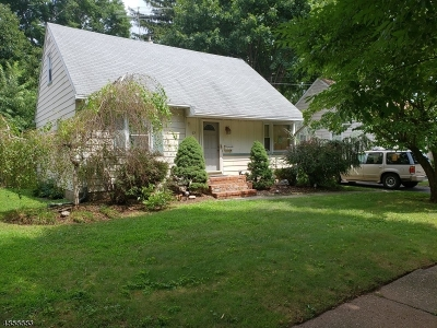Cranford Twp. Single Family Home For Sale: 23 Pershing Ave