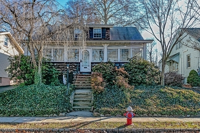 Cranford Twp. Single Family Home For Sale: 173 N Lehigh Ave