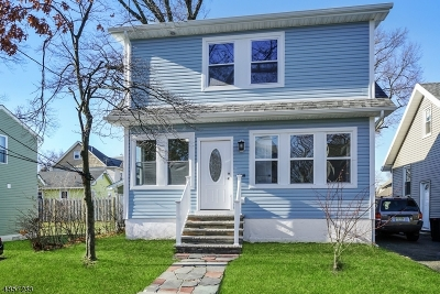 ROSELLE PARK Single Family Home For Sale: 608 Elm St