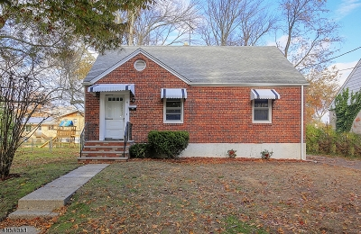 Cranford Twp. Single Family Home For Sale