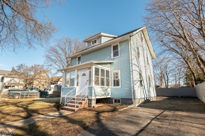 Roselle Boro Single Family Home For Sale: 219 Locust St