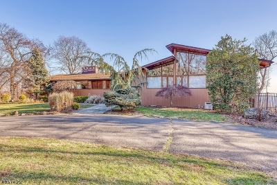 WATCHUNG Single Family Home For Sale: 1090 Johnston Dr