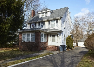 South Orange Village Twp. Single Family Home For Sale: 439 South Orange Ave