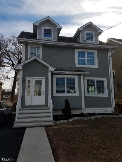 ROSELLE PARK Single Family Home For Sale: 122 W Grant Ave