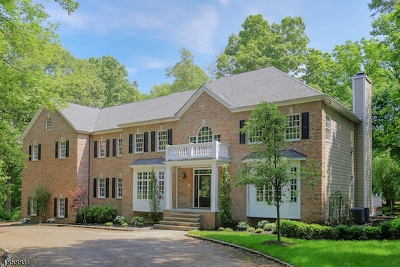 WATCHUNG Single Family Home For Sale: 91 Wildwood Terrace
