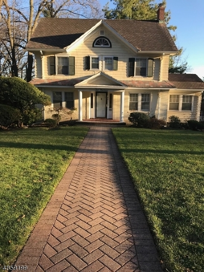 South Orange Village Twp. NJ Single Family Home For Sale: $725,000