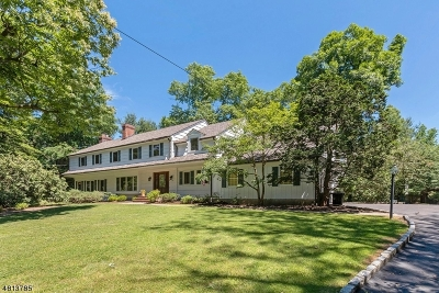 Millburn Twp. Single Family Home For Sale: 18 Timber Acres Rd