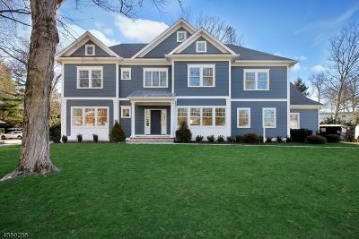 Millburn Twp. Single Family Home For Sale: 37 Byron Rd