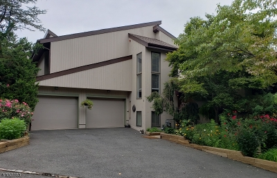 WATCHUNG Condo/Townhouse For Sale: 22 Stonegate Dr