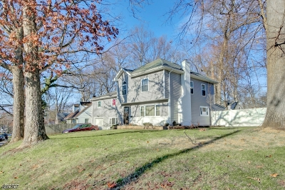 Plainfield City Single Family Home For Sale: 1481-87 Hazelwood Ter