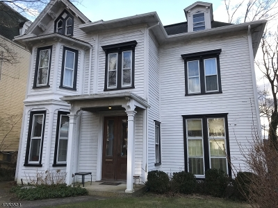 Morristown Town Single Family Home For Sale: 14 Prospect St