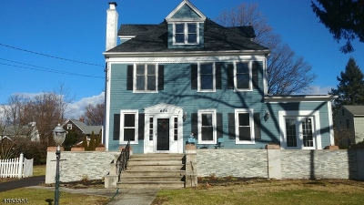 Cranford Twp. Single Family Home For Sale: 604 Willow St
