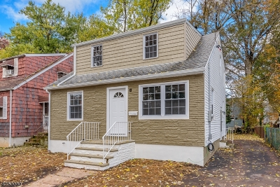 LINDEN Single Family Home For Sale: 1119 Passaic Ave