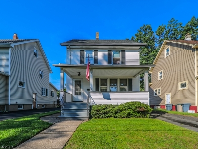 ROSELLE PARK Single Family Home For Sale: 508 Sherman Ave