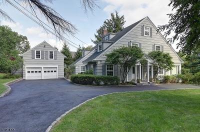 Millburn Twp. Single Family Home For Sale: 39 Hemlock Rd