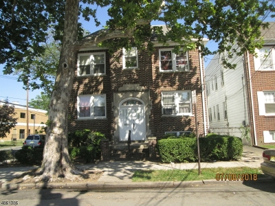 Essex County, Morris County, Union County Multi Family Home For Sale: 463-465 N 13th