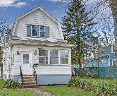RAHWAY Single Family Home For Sale: 242 Linden Ave