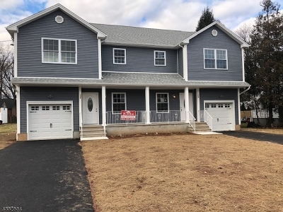 North Plainfield Boro NJ Single Family Home For Sale: $375,000