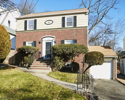 West Orange Twp. Single Family Home For Sale: 5 Orange Heights Ave