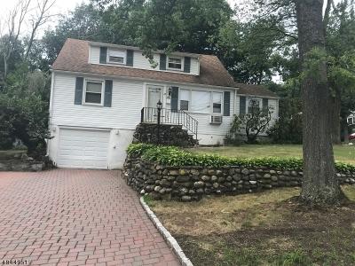 West Orange Twp. Single Family Home For Sale: 12 Carolina Ave
