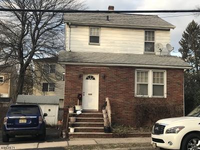 Hillside Twp. Single Family Home For Sale: 535 Harvard Ave