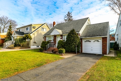 LINDEN Single Family Home For Sale: 1918 Mildred Ave