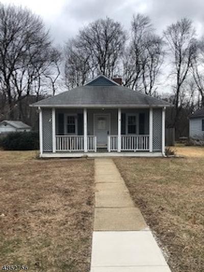 Roxbury Twp. Single Family Home For Sale: 6 Bent St