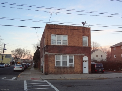 Perth Amboy City Multi Family Home For Sale: 284 Hall Ave #2